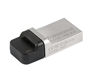 Transcend JetFlash 880 64GB USB 3.0 - kovový