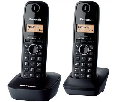 Panasonic KX TGB212FXB Twinpack (černý) + DOPRAVA ZDARMA