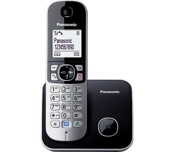 Panasonic KX TG6811FXB dect + DOPRAVA ZDARMA