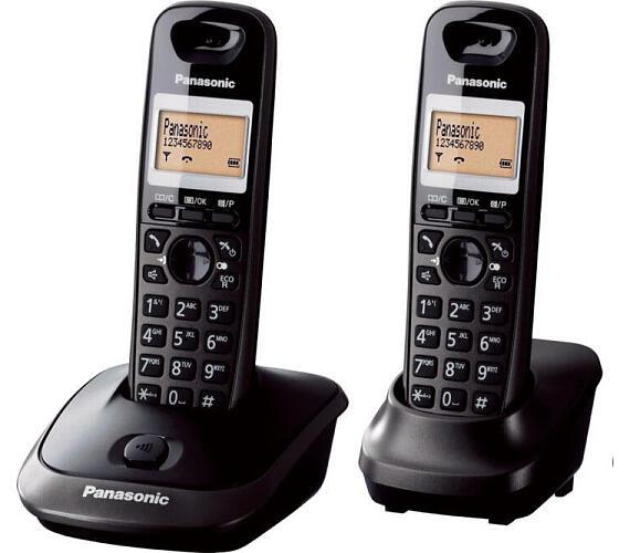 Panasonic KX TG2512FXT DECT DUO + DOPRAVA ZDARMA