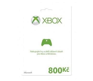 Microsoft Xbox LIVE FPP Czech Czech Republic 800 CZK + DOPRAVA ZDARMA