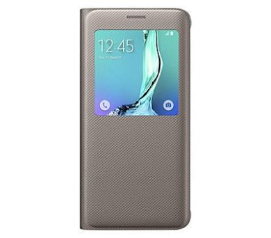 Samsung S-View pro Galaxy S6 Edge+ (EF-CG928P) - zlaté