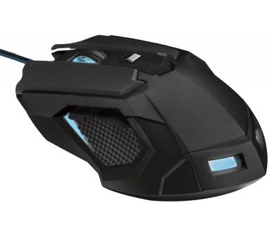 Trust GXT 158 Gaming / laserová / 8 tlačítek / 5000dpi - černá