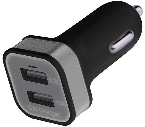 Univerzální duální USB adaptér do auta 2,1 A (10,5W) max.