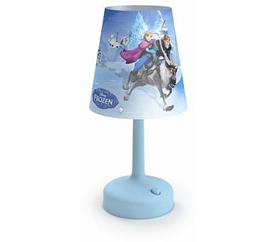 DISNEY PŘENOSNÁ LAMPA STOLNÍ Frozen Massive 71796/08/16