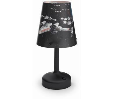 DISNEY PŘENOSNÁ LAMPA STOLNÍ Star Wars - Darth Vader Philips 71888/30/16