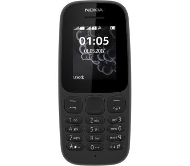 Nokia 105 DualSIM (NK03440) - černý + DOPRAVA ZDARMA