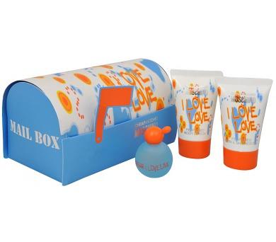 Moschino I Love Love 4,9ml + 25ml tělové mléko + 25ml sprchový gel
