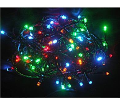 Vánoční osvětlení 100 LED - BAREVNÉ / 10LED bliká
