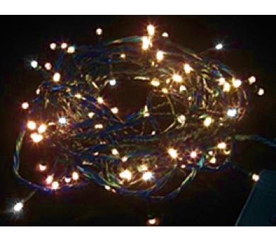 Vánoční osvětlení 180 LED - TEPLÉ BÍLÉ / 18LED bliká