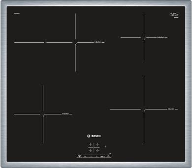 Bosch PIF645BB1E nerez + DOPRAVA ZDARMA
