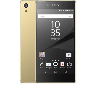 Sony Xperia Z5 Dual (E6634) - zlatý + DOPRAVA ZDARMA