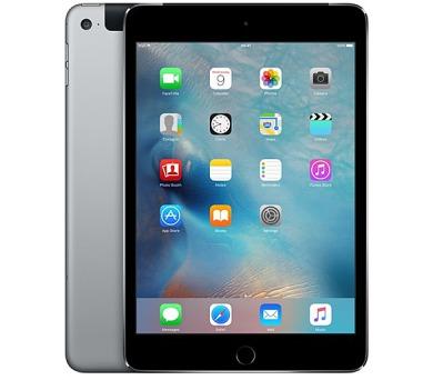 "Apple iPad mini 4 Wi-Fi + Cellular 16 GB - Space Gray 7.9"" + INTERNET ZDARMA"