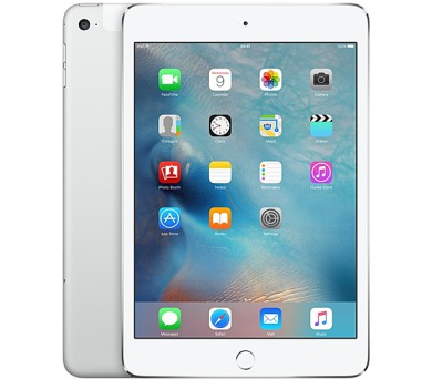 "Apple iPad mini 4 Wi-Fi + Cellular 16 GB - Silver 7.9"""