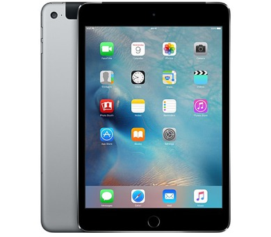 Apple iPad mini 4 Wi-Fi + Cellular 128 GB - Space Gray 7.9""