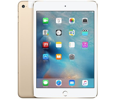 Apple iPad mini 4 Wi-Fi + Cellular 128 GB - Gold 7.9""