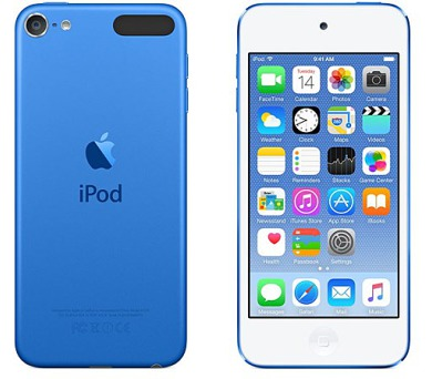 Apple iPod touch 64GB modrý