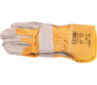 Extol Premium kožené s podšívkou v dlani