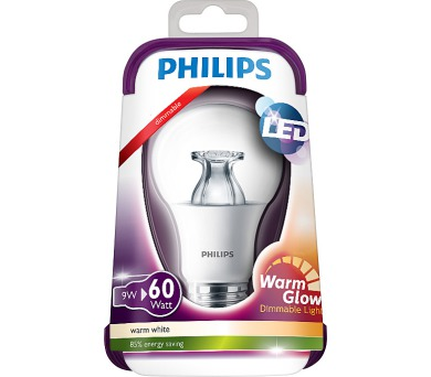 LED Warmglow 60W E27 WW 230V A60 CL D/4 Massive 8718696481240