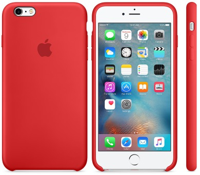 Recenze Apple Silicone Case pro iPhone 6S Plus - Red - kryt na mobil ... e9a91a5cada