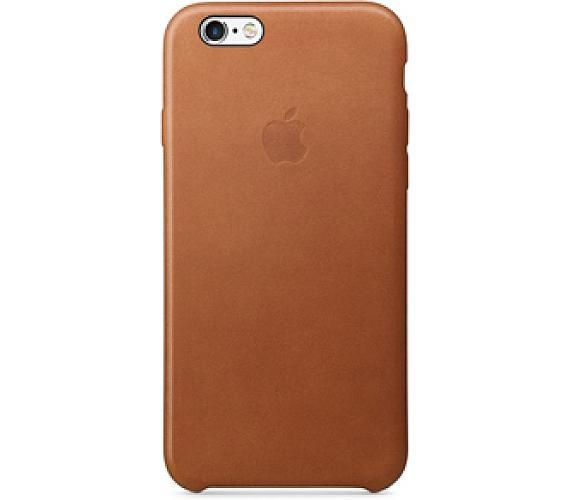 Apple Leather Case pro iPhone 6s - sedlově hnědá