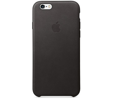 Apple Leather Case pro iPhone 6S - Black