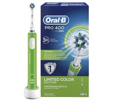 Oral-B Pro 400 Green + DOPRAVA ZDARMA
