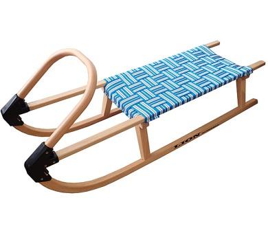Acra A2041-MO sáně 110cm dřevěné modré + DOPRAVA ZDARMA