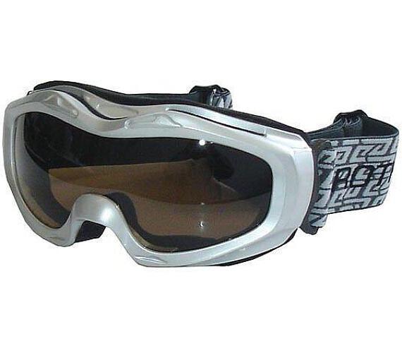 BROTHER B112-S lyžařské brýle - stříbrné