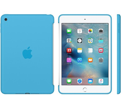 Apple Silicone Case pro iPad mini 4 - Blue