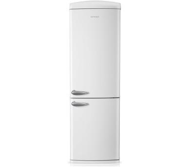 Concept LKR7360wh Chladnička kombinovaná Retro volně stojící Bílá WHITE