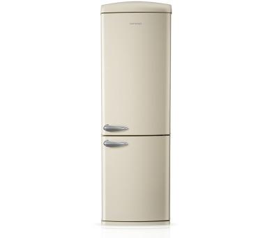 Concept LKR7360cr Chladnička kombinovaná Retro volně stojící Krémová + DOPRAVA ZDARMA