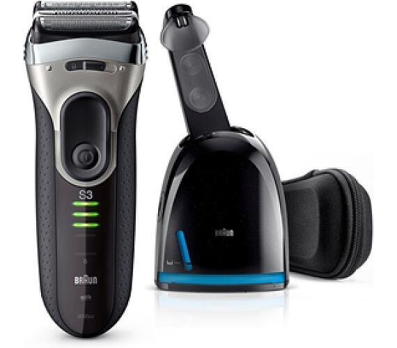 Braun Series 3-3090 Clean&Charge + DOPRAVA ZDARMA