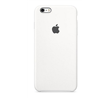 Apple Silicone Case pro iPhone 6S - White