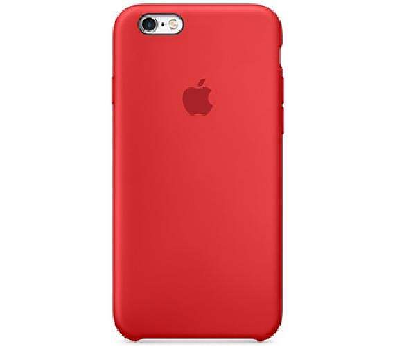 Apple Silicone Case pro iPhone 6/6s (PRODUCT)RED™ - červený