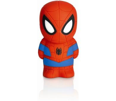Disney Spider-man PŘENOSNÉ SVÍTIDLO LED 2x0,2W bez baterií Philips 71768/40/16