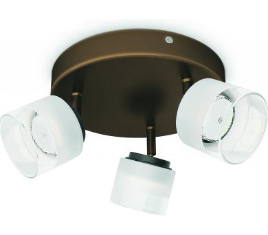 Fremont SVÍTIDLO BODOVÉ BRONZ LED 3x4W 230V Philips 53333/06/16 + DOPRAVA ZDARMA