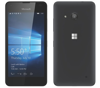 Microsoft Lumia 550 - černý