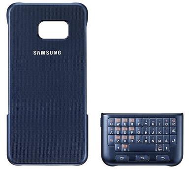Samsung s klávesnicí pro Galaxy S6 Edge+ (EJ-CG928BB) - modrý + DOPRAVA ZDARMA