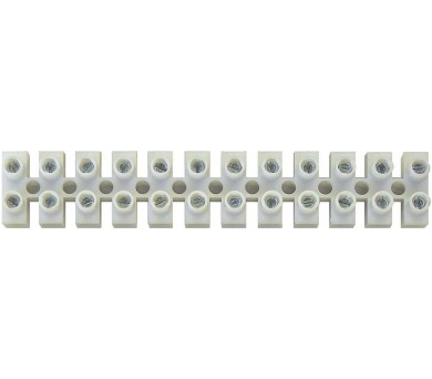 Svorkovnice 12x6,0 mm bílá