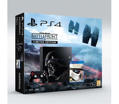 Sony PlayStation 4 1TB + Star Wars: Battlefront _limitovaná edice