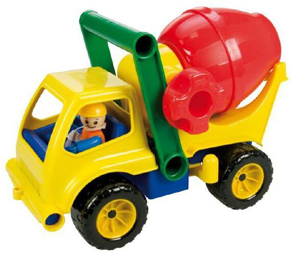 Auto domíchávač s figurkou aktivní plast 27cm 24m+
