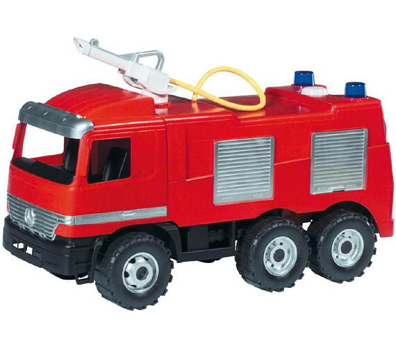 Mercedes auto hasiči plast 60cm v krabici + DOPRAVA ZDARMA