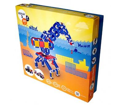 Stavebnice Seva 5 Technic plast 719ks v krabici 35x33x8cm + DOPRAVA ZDARMA