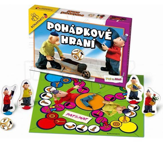 Pohádkové hraní Pat a Mat společenská hra 34,5x23x4cm v krabici