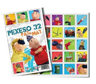 Pexeso 32 Pat a Mat společenská hra