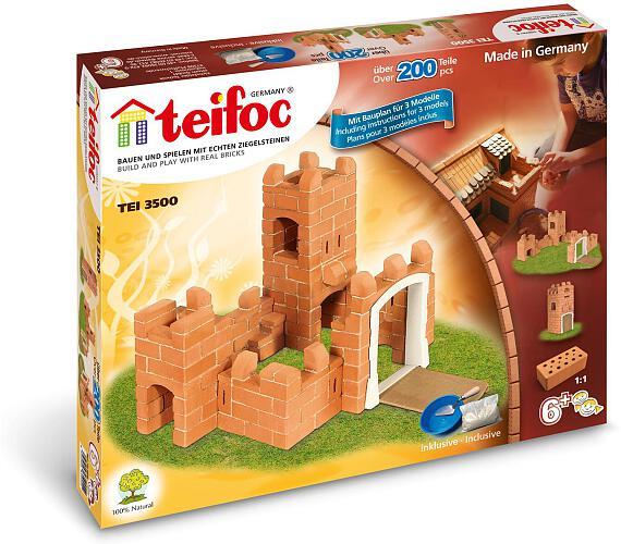 Stavebnice Teifoc Rosa 200ks v krabici 35x29x8cm