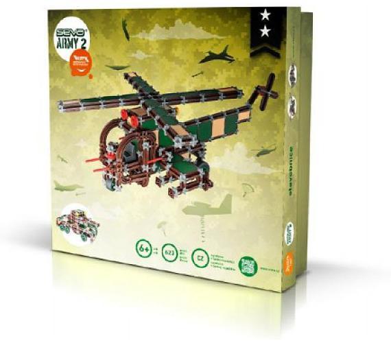 Stavebnice Seva Army 2 plast 623ks v krabici 35x33x5cm + DOPRAVA ZDARMA