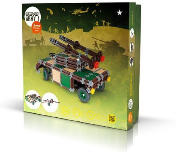 Stavebnice Seva Army 1 plast 514ks v krabici