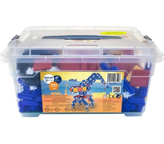 Stavebnice Seva 5 Jumbo plast 1064ks v plastové krabici 40x19x27cm + DOPRAVA ZDARMA